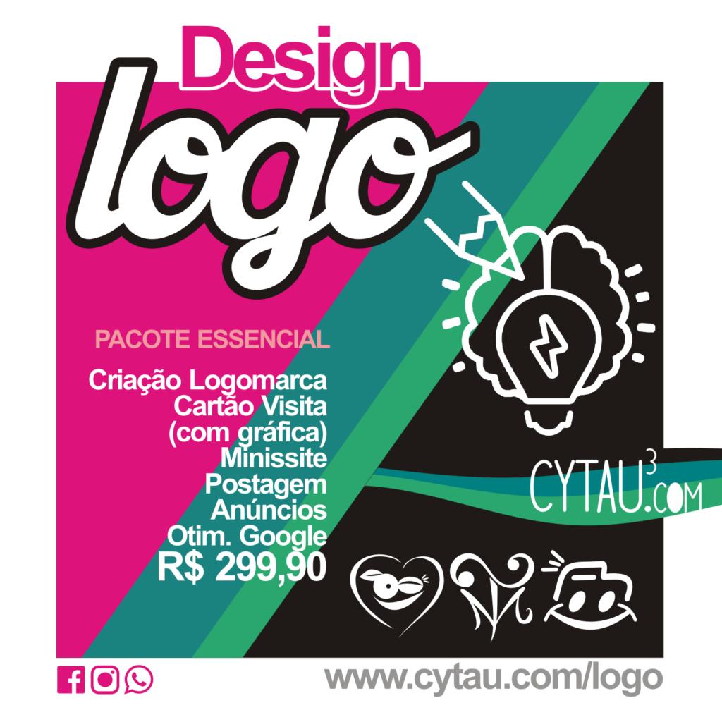 pacote essencial design logo cytau logomarca marca logotipo cytau