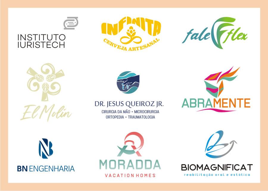criação design de logo empresas diversos segmentos